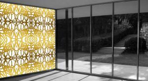 Wandmalerei | PatternPaint Gold