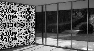 Wandmalerei | PatternPaint Silber