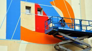 Künstlerhaus Bethanien | Fassadenmalerei
