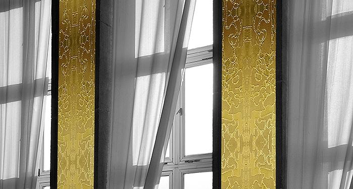 Wandmalerei | Gold